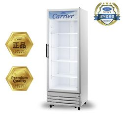 캐리어 수직형 냉장 쇼케이스 CSR470RD2D (기본설치포함)