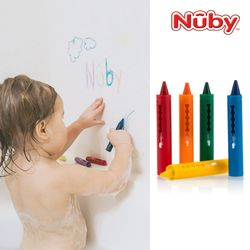누비 아기목욕장난감 목욕 크레용(5P세트)