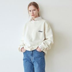 FIGURE LOGO SWEATSHIRT[CREAM]