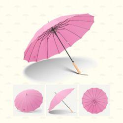 고씨네 16개빗살장우산 튼튼빗살우산 레트로장우산