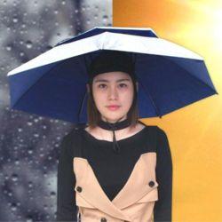 2중 핸즈프리 모자 우양산 특이한선물 어린이우산