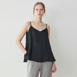 SHINE FLARE TOP[BLACK]