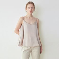 SHINE FLARE TOP[BEIGE GRAY]