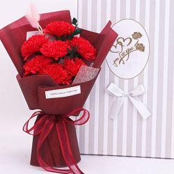 더이쁜 카네이션 조화 인테리어 어버이날 스승의날 꽃선물