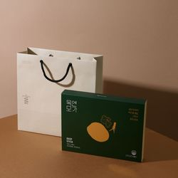 [특가] 목엔모가 모과발효진액 선물세트 12ml x 30포 (쇼핑백 포함)