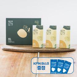 목엔모가 모과발효진액 12ml x 30포 (마스크 3개 )
