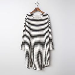 Lucca V-Neck Stripe Long Tee
