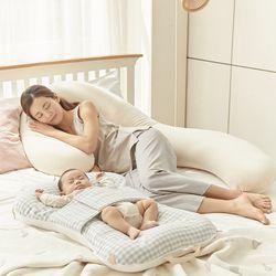 이몽 듀얼 휴대용 아기 침대 (커버분리형 뒤집기방지)