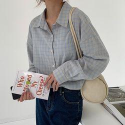 [해외직구] 내추럴 스프링체크 셔츠