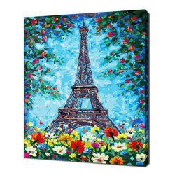 [명화그리기]4050 파리의 꽃 26색 일러스트