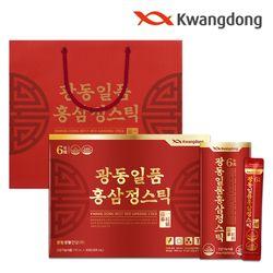 광동 일품 홍삼정스틱 (10ml x 30포) - 1박스