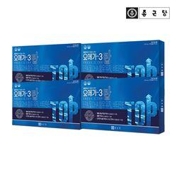 종근당 눈건강 오메가3 탑 180캡슐 4박스(12개월분)