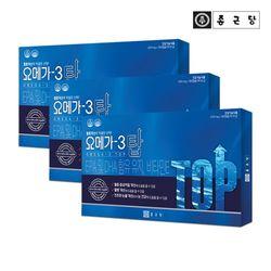 종근당 눈건강 오메가3 탑 180캡슐 3박스(9개월분)
