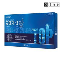 종근당 눈건강 오메가3 탑 180캡슐 1박스(3개월분)