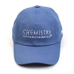 Chemistry Denim Low Ballcap 데님볼캡