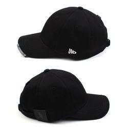 BK Bar Black Low Ballcap 로우볼캡