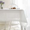에델린 레이스 린넨 화이트 식탁보 6인 130x180cm