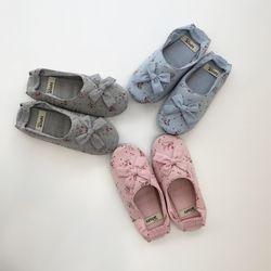 레이 코튼 실내화 덧신 3색상 귀여운 어린이집 유치원