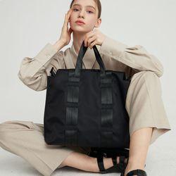 mul-ti shopper bag -  Neutral black