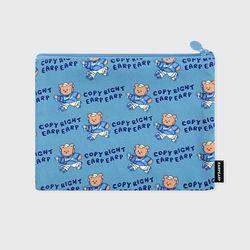 Merry skate-blue(파우치)(L)