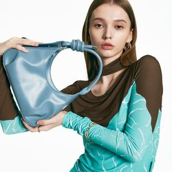 rope chain bag  Cashmere Blue