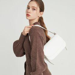 bread shoulder bag  white