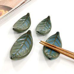 나뭇잎 젓가락 받침 4p set