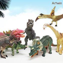 60000 해피타운 사파리 관절 공룡 6종 세트