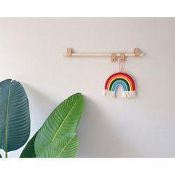 미니 행잉레더스트랩  숏 (풀세트) 2c 거실 방 벽면 인테리어