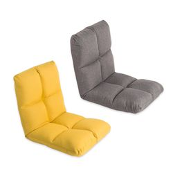 접이식 등받이 1인 쿠션 체어 각도조절 좌식 의자