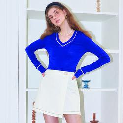 Wrap Skirt Pants_ Ivory