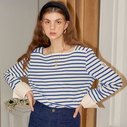 Sailor Stripe Cuffs T_ Blue