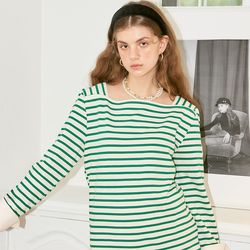 Sailor Stripe Cuffs T_ Green