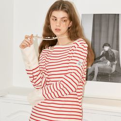 Sailor Stripe Cuffs T_ Red