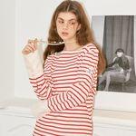 Sailor Stripe Cuffs T_ Red