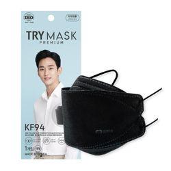 SBW 황사 방역 KF94 마스크 50매 블랙