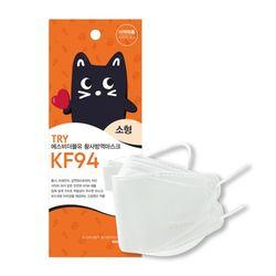 SBW 황사 방역 KF94 아동 마스크 50매 화이트
