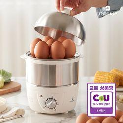 디온리 FULL스텐 전기찜기 30분 타이머 계란 스팀찜기 NBE023S