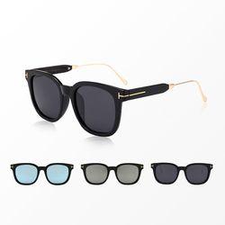 여자 편광 컬러 선글라스 자외선 차단 레트로 색안경