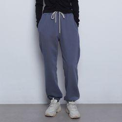 W89 havy setup jogger pants blue