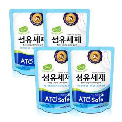 아토세이프 유아 세탁세제 리필 1.3L 4개