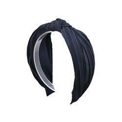 pleats navy hairband