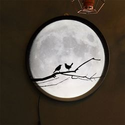 no155-LED액자35R밤하늘보름달