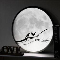 no156-LED액자45R밤하늘보름달