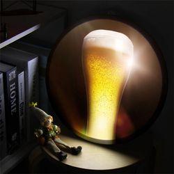 nh885-LED액자35R빛나는황금맥주