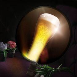 nh886-LED액자45R빛나는황금맥주