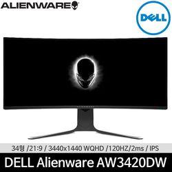 DELL Alienware AW3420DW WQHD 120Hz 34인치 게이밍 델 모니터