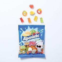 알펜리베 탑믹스(60g) 5봉 젤리 사탕 캔디 간식 선물