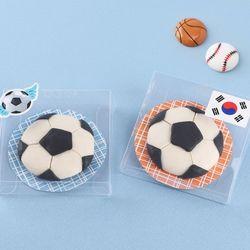 축구공비누만들기(4개)쪼물락점토비누솝클레이소품