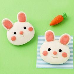 토끼비누만들기(4개)쪼물락점토비누솝클레이동물